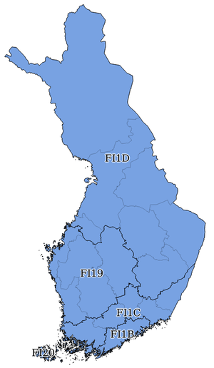 NUTS statistical regions of Finland Wikipedia