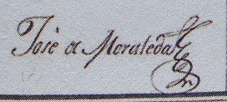 José de Moraleda y Montero - Image: Firma de Jose de Moraleda