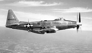 Fisher P-75 Eagle - Fisher P-75A in flight