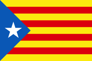 English: Flag of Catalunya Euskara: Catalunyak...