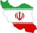Flag of Iran in map.svg