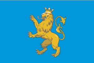 Novyi Kalyniv - Image: Flag of Lviv Oblast