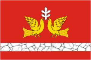 Sovetsky District, Kirov Oblast - Image: Flag of Sovetsky rayon (Kirov oblast)