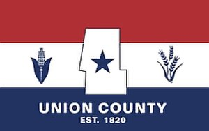 Flags of counties of the United States - Image: Flag of Union County, Ohio