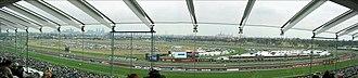 Flemington Racecourse - 180 degree panorama of the racecourse