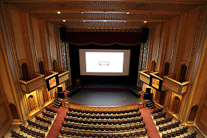 Carolina Theatre - The main stage, Fletcher Hall, seats 1,016.