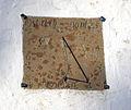 Floeng Kirke Denmark sundial.jpg