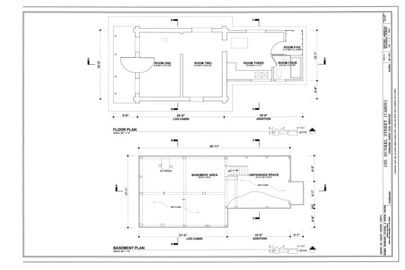 File floor plans 105 dunkel street cabin 105 dunkel for Alaska floor plans