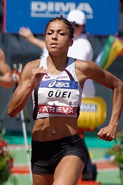 Floria Gueï French Athletics Championships 2013 .jpg