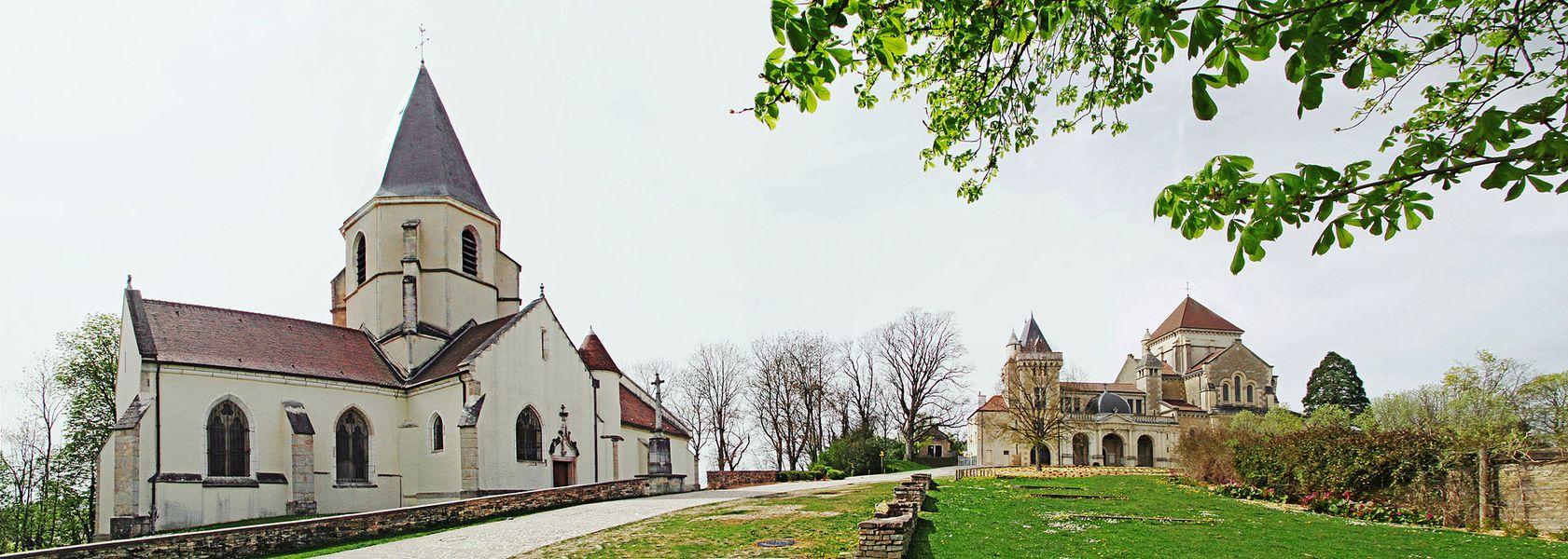 Église et basilique de Fontaine-lès-Dijon