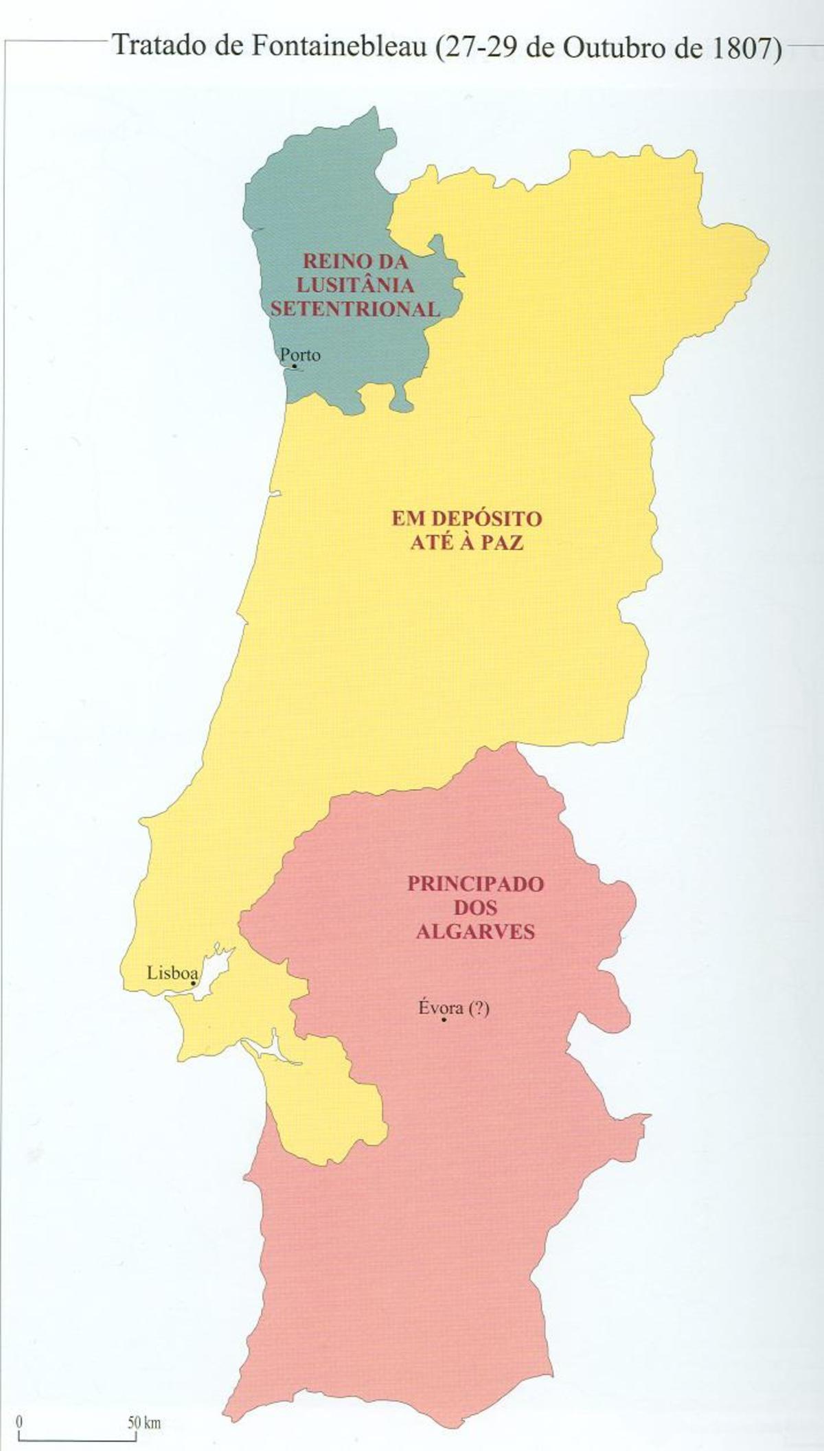 Kingdom Of Northern Lusitania Wikipedia - Portugal map quiz