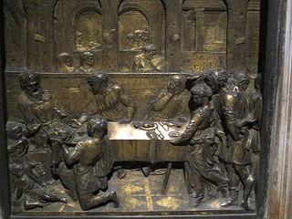 <i>The Feast of Herod</i> (Donatello) sculpture by Donatello