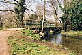 Footbridge over River Cray, North Cray, Kent - geograph.org.uk - 844134.jpg