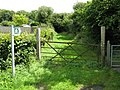 Footpath Access, Hook - geograph.org.uk - 1416711.jpg