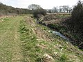 Footpath beside stream - geograph.org.uk - 1217851.jpg