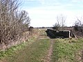 Footpath bridge over the railway, Old Milverton - geograph.org.uk - 1765343.jpg