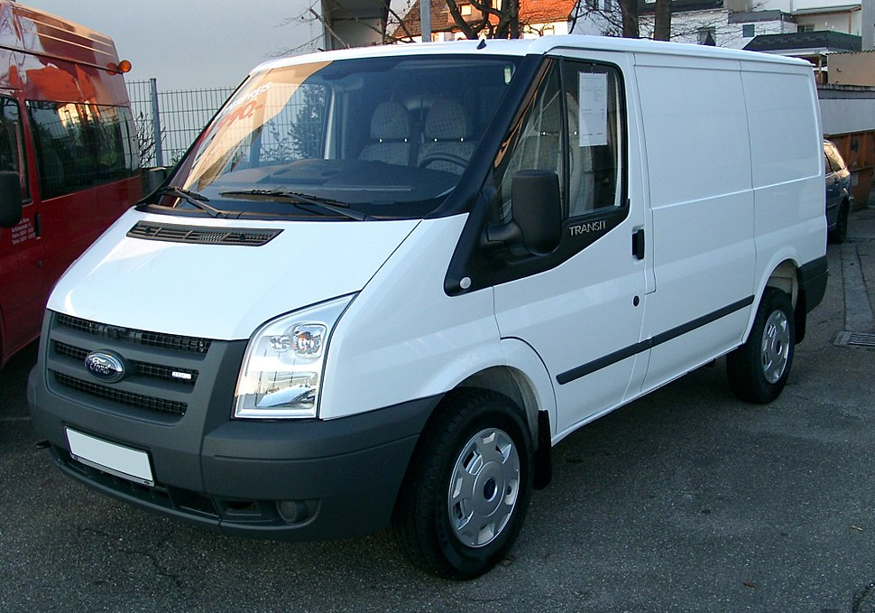 Ford Transit front 20071124