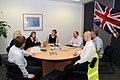 Foreign Secretary meets with Australian staff (5369151437).jpg