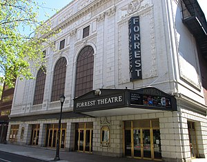 Forrest Theatre - Image: Forrest Theatre from west