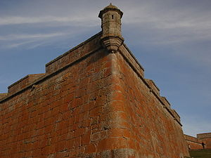 Fortaleza de Santa Teresa - Mauer der Fortaleza de Santa Teresa