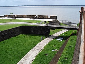 Pará - Fort of the Nativity (Forte do Presépio), in Belém city, Brazil.