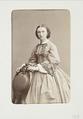 Fotografiporträtt på kvinna - Hallwylska museet - 107755.tif