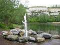 Fountain near Bluewater - geograph.org.uk - 1302586.jpg