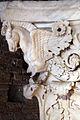 Frammento di capitello con cavalli alati, dall'interno della cella del tempio di marte ultore nel foro di augusto, 2 ac ca. 06.JPG
