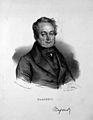 François Magendie. Lithograph by N. E. Maurin. Wellcome M0011348.jpg