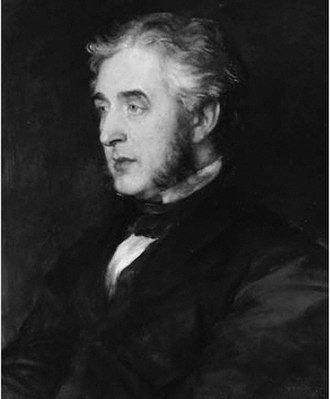 Francis Napier, 10th Lord Napier - Portrait of Francis Napier, 10th Lord Napier in 1866