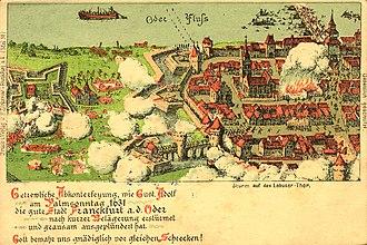 Battle of Frankfurt an der Oder - Offensive on Lebus Gate