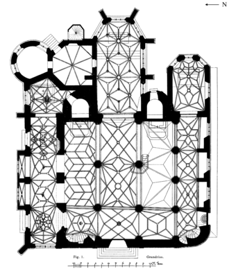 Floor plan - Image: Frankfurt Am Main Leonhardskirche Grundriss
