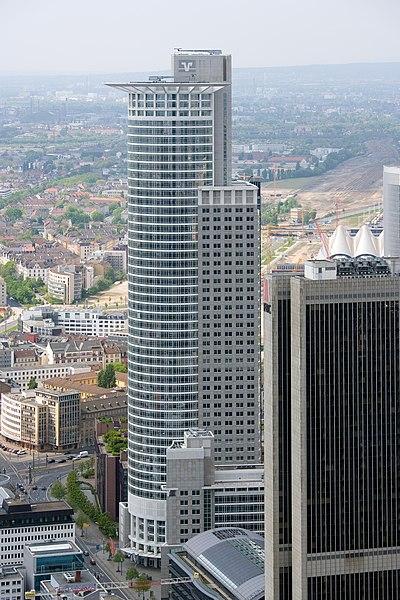 Art Foyer Dz Bank Frankfurt Main : Sc buildings and their real life counterparts