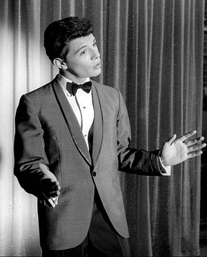 Frankie Avalon - Avalon performing in 1960