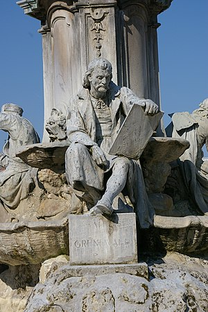Matthias Grünewald - Image: Frankoniabrunnen 2