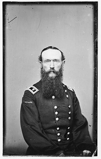 Camden Expedition - Maj. Gen. Frederick Steele, commander of the Department of Arkansas