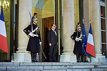 Hollande all'Eliseo nel 2015
