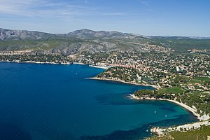 Typical Coast of the French riviera, Cassis