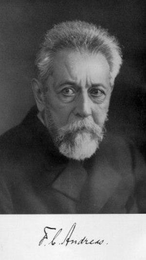 Friedrich Carl Andreas - Friedrich Carl Andreas