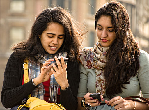 Friends with Mobile Phones