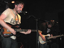 Frightened Rabbit in Cambridge (Massachusetts), juli 2008