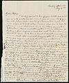 From Sylvia Ann Ammidon to Deborah Weston; Tuesday, May 3, 1836? p1.jpg