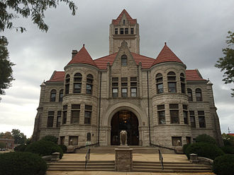 Rochester, Indiana - Image: Fulton County Courthouse 2014