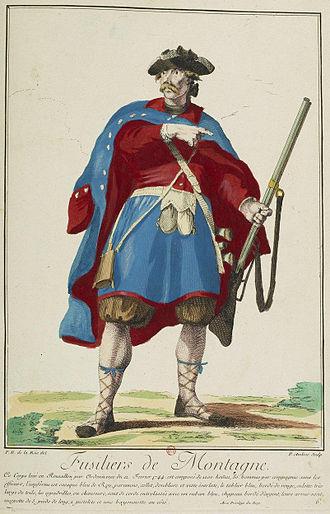 Battle of Sant Esteve d'en Bas - A miquelet by Philibert-Benoist de La Rue