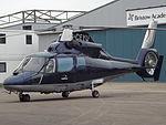 G-CEYU Aerospatiale Dauphin Helicopter Muitflight Ltd (25917508702).jpg