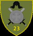 GAF 23rd Infantry Battalion Emblem.png