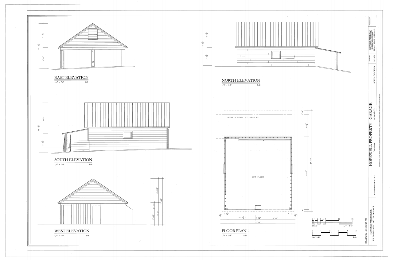Floor Front Elevation Garage : Garage elevations joy studio design gallery best