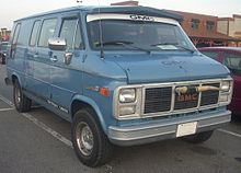 GMC Vandura Campwagon Chevrolet Conversion Van