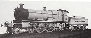 GWR 2900 Class - First series No. 181 Ivanhoe as built as a 4-4-2