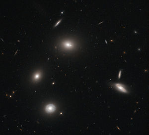 Elliptical galaxy - Image: Galactic fireflies